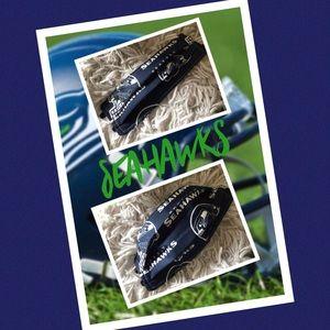 (2) Seattle Seahawks Facemasks